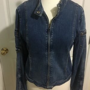 Old Navy stretch denim jacket.